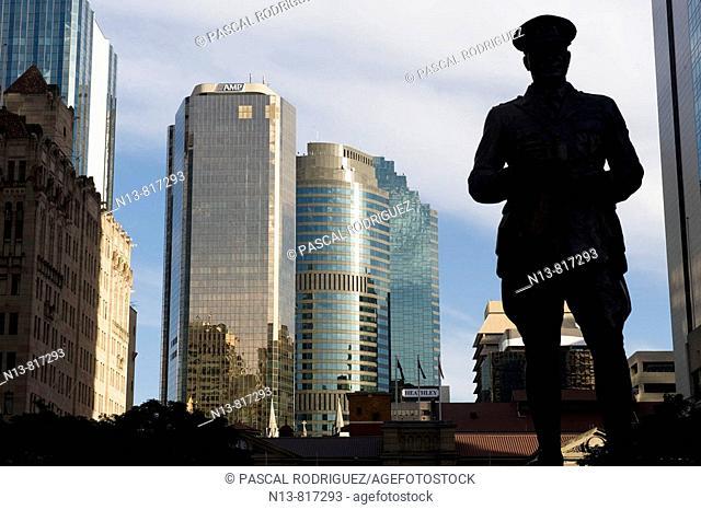 BRISBANE, QUEENSLAND AUSTRALIA ANZAC SQUARE