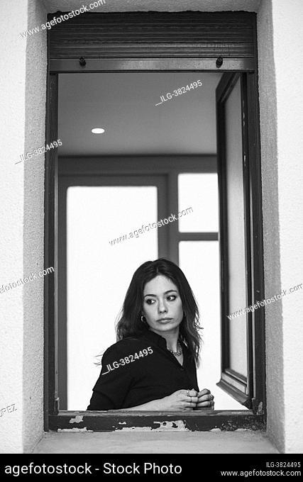 Anna Castillo poses for a photo session 'Lo que Viene film Festival' on 'La vida era eso' May 13, 2021 in Tudela, Navarra, Spain
