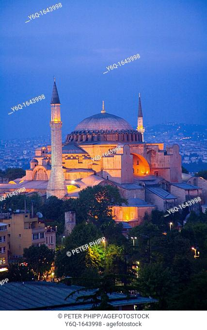 The 'Haghia Sophia' Church at Sultanahmet  Istanbul