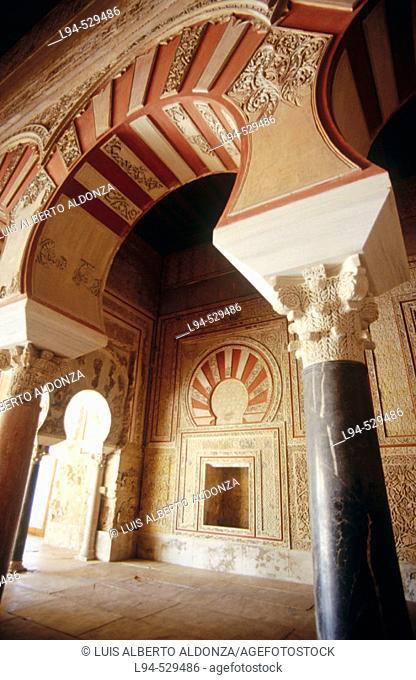 Ruins of Medina Azahara, palace built by caliph Abd al-Rahman III. Córdoba province. Andalusia, Spain