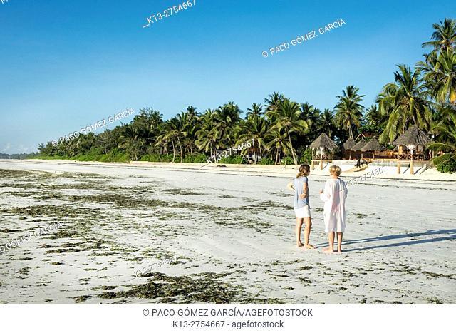 Matemwe beach Zanzibar Island Tanzania