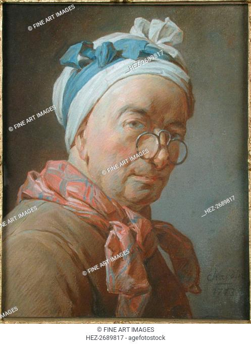 Self-portrait with spectacles, 1773