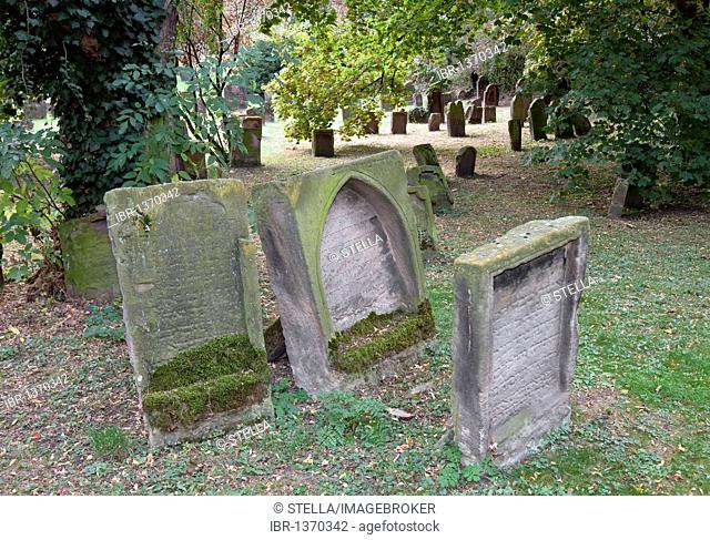 The Heiliger Sand Jewish Cemetery in Worms, Rhineland-Palatinate, Germany, Europe