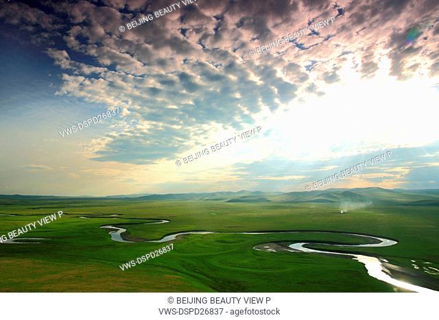 Prairie lands,Inner Mongolia