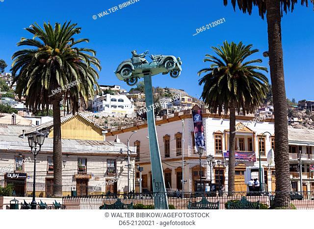 Chile, Coquimbo, Plaza Vicuna Mackenna, Barrio Ingles, historic English area