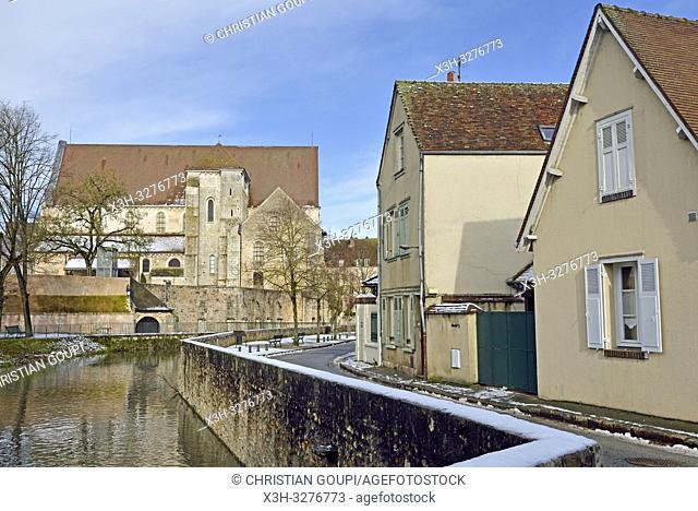 bords de la riviere Eure, Chartres, departement d'Eure-et-Loir, region Centre-Val de Loire, France, Europe/Eure River banks, Eure-et-Loir department