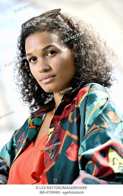 Young Woman, Fashion, Photoshoot, Portrait, Munich, Upper Bavaria, Bavaria, Germany