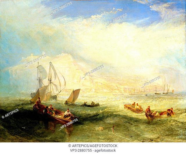 Turner, Joseph Mallord William (RA) - Line Fishing, Off Hastings