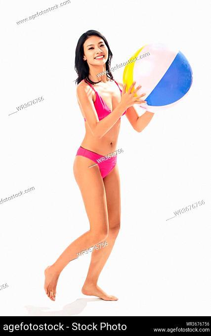 Take the bikinis beach ball