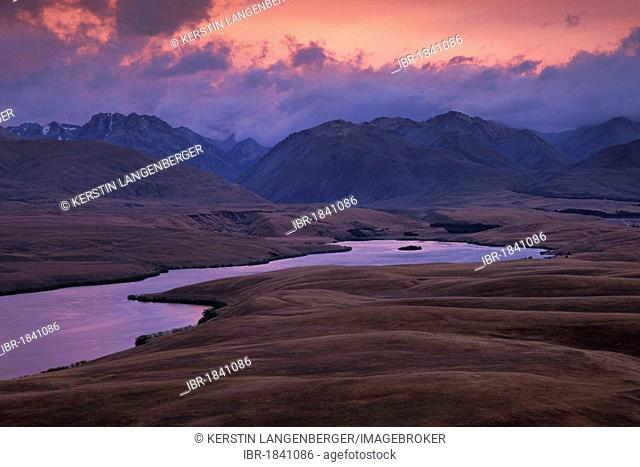 Lake Alexandrina, Mackenzie Country, Canterbury, South Island, New Zealand