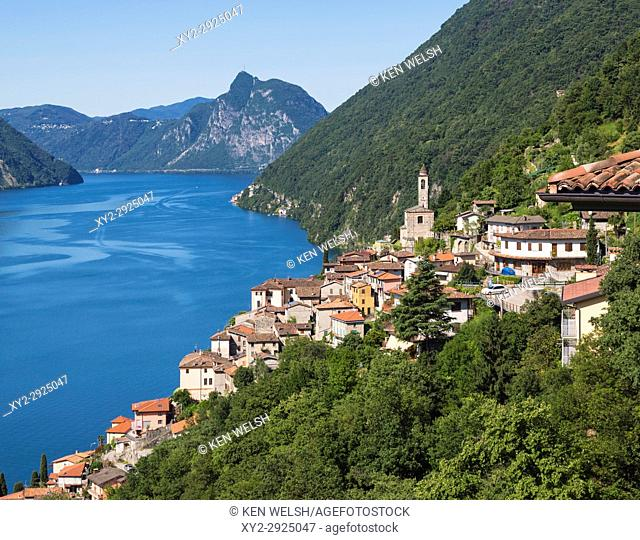 Albogasio, Lake Lugano, Como Province, Lombardy, Italy