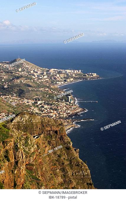 Fuchal - view from Cabo Girao - Madeira