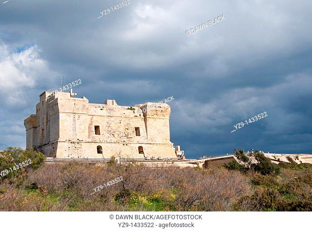 This fortification was built by the Knights of St John between 1610 and 1611 and stands above Marsaxlokk Bay  The British extended it and the original tower is...