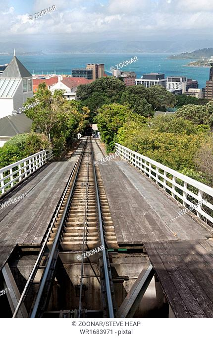 Wellington New Zealand cable car tracks