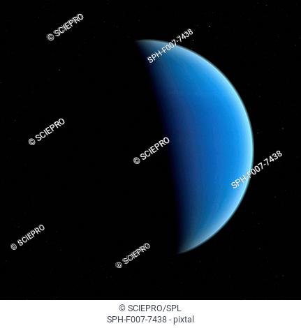 Neptune, computer artwork