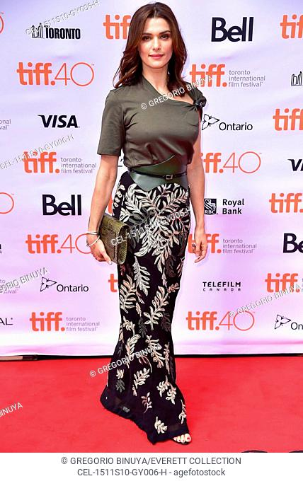 Rachel Weisz (wearing Louis Vuitton) at arrivals for THE LOBSTER Premiere at Toronto International Film Festival 2015, Princess of Wales Theatre, Toronto