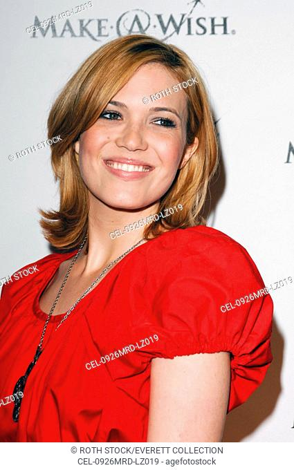 Mandy Moore at arrivals for LATISSE Launch Party and Make-A-Wish Foundation Benefit, North La Cienega Boulevard, Los Angeles, CA March 26, 2009