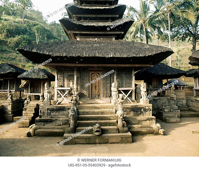 The state temple Pura Kehen, Bangli
