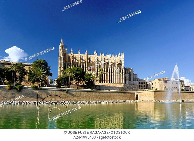 Spain , Mallorca Island, Palma City, La Seu Catedral