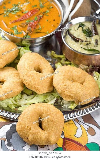 Indian food, Medhu Vada, Lentil fri