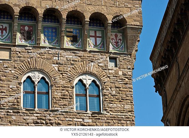 Palazzo Vecchio, architectural detail