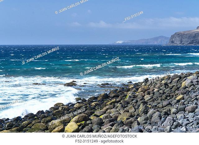 Puerto de las Nieves village, Agaete valley, Gran Canaria Island, The Canary Islands, Spain, Europe
