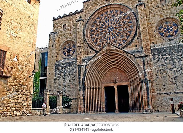 Sant Cugat del Valles Monastery, Catalonia, Spain
