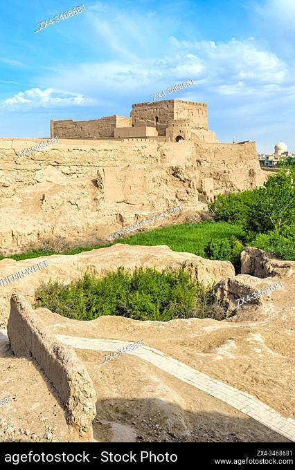 Narin Qal'eh, Meybod mud-brick fortress, Yazd Province, Iran, Asia
