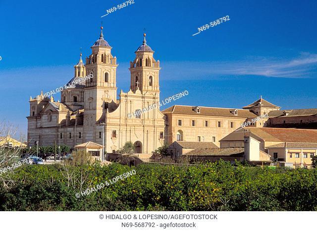 Guadalupe. Jerónimos monastery. XVIIth century. Murcia province. Spain