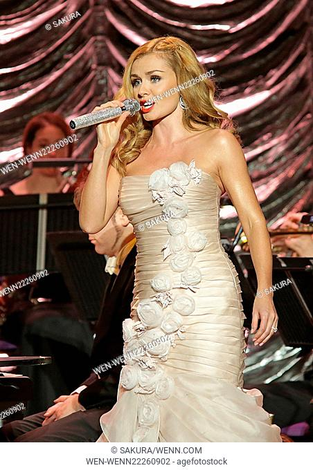 Katherine Jenkins performing at the Liverpool Philharmonic Hall Featuring: Katherine Jenkins Where: Liverpool, United Kingdom When: 02 Mar 2015 Credit:...