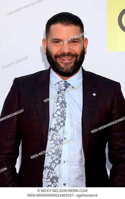 47TH NAACP Image Awards held at the Pasadena Civic Auditorium - Arrivals Featuring: Guillermo Díaz Where: Pasadena, California