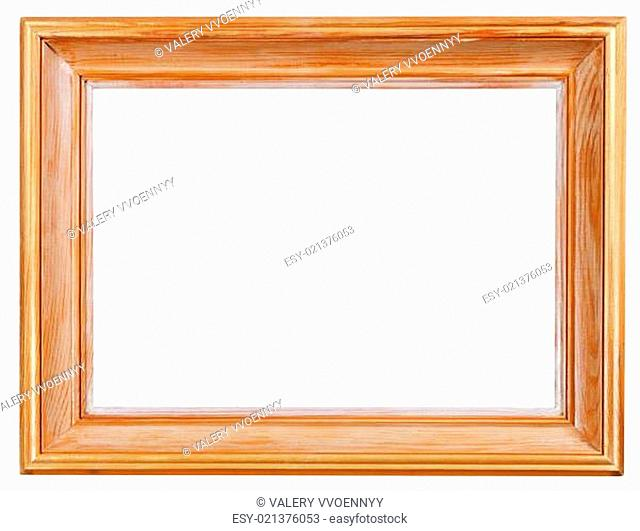 wide classical wooden picture frame