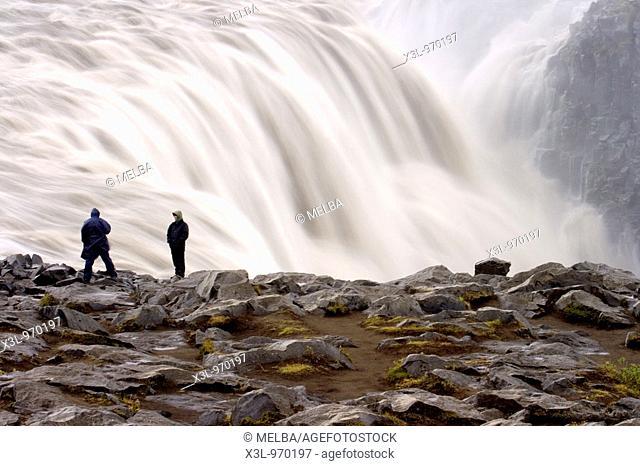 Dettifoss waterfall  Jokulsargljufur National Park  Iceland