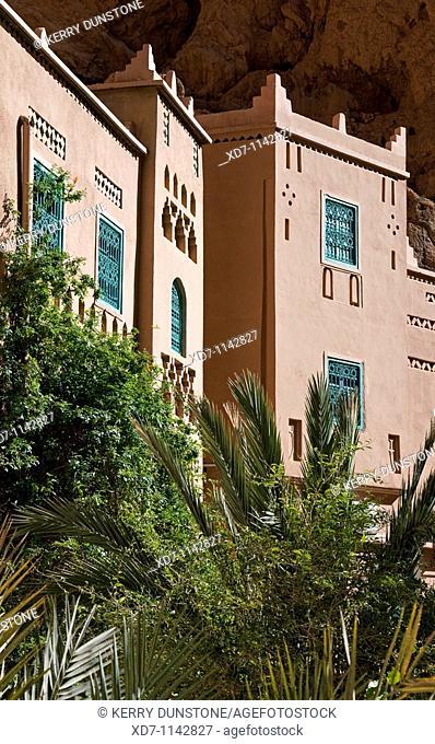 Morocco Dades Valley Todra Gorge Hotel Yasmina Detail