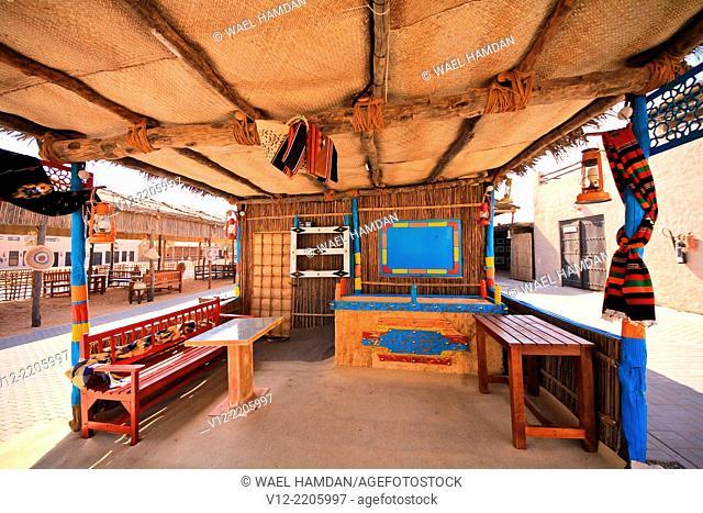 Heritage Village in Dubai, united arab emirates