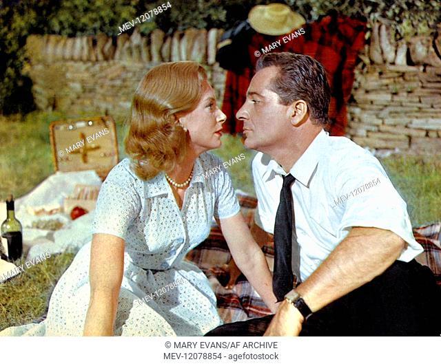 Deborah Kerr & Rossano Brazzi Characters: Grace Allingham & Charles Edouard de Valhubert Film: Count Your Blessings (1959) Director: Jean Negulesco 23 April...