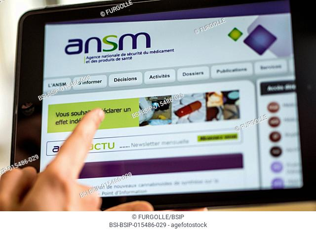 French national drug health and safety information website