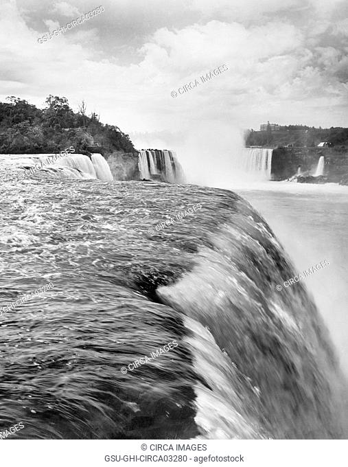 Niagara Falls, Niagara Falls, New York, USA, Detroit Publishing Company, 1908