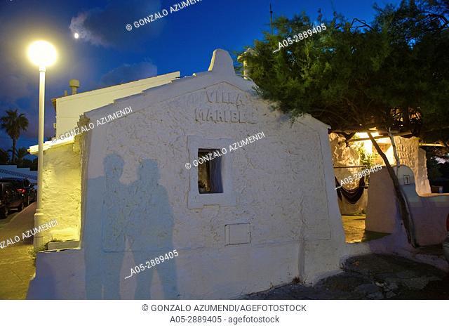 Es Grau.Minorca. Balearic Islands. Spain