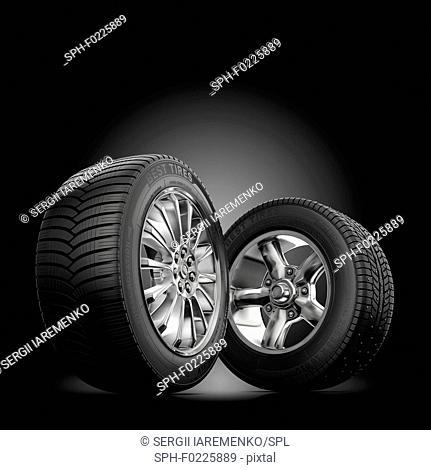 Tyres, illustration