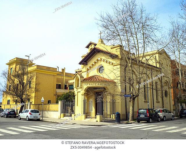 Chiesa di Santa Teresa del Bambin Gesù, Lido di Ostia - Rome, Italy