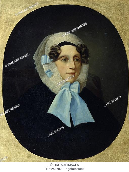Portrait of Countess Alexandra Alexandrovna Golitsyna. Found in the collection of the Regional Art Gallery, Tver