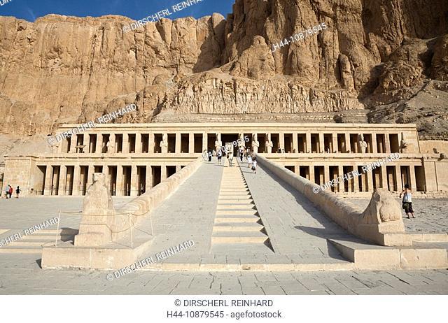 Mortuary Temple of Queen Hatshepsut, Luxor, Egypt