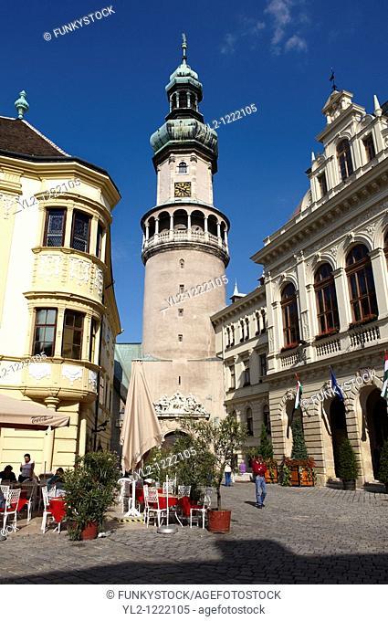 The Fire Tower Tuztorony- Sopron, Hungary