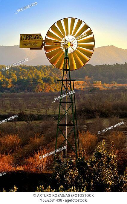 Mill in Vallclara (Tarragona, Catalonia), Spain