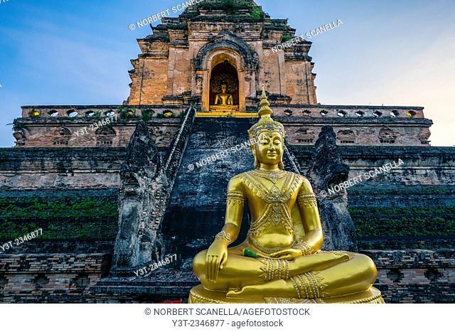 Asia. Thailand, Chiang Mai. Wat Phra Singh