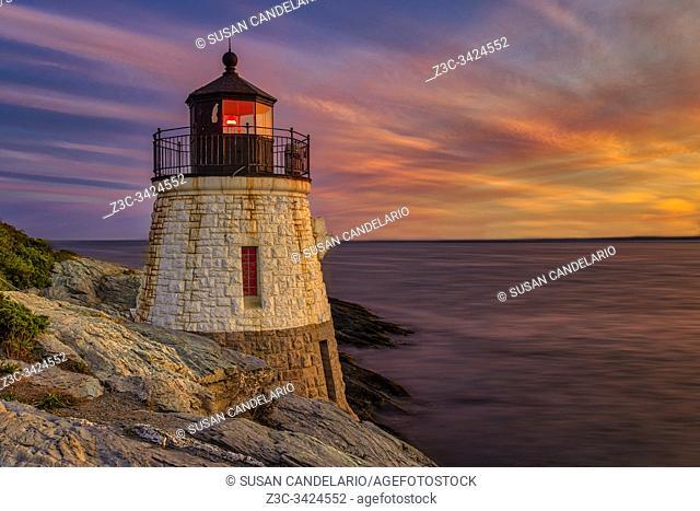 Castle Hill Lighthouse RI