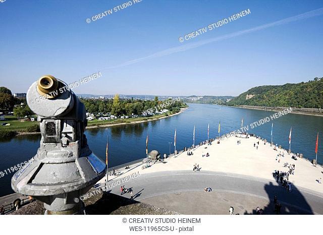 Germany, Rhineland-Palatinate, Koblenz, Deutsches Eck