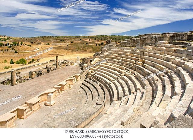 Roman Theatre of Segobriga, Saelices, Castile-La Mancha, Spain