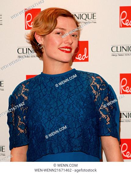Red Woman of the Year 2014 ceremony in association with Clinique at the Ham Yard Hotel in London -Arrivals Featuring: Camilla Rutherford Where: London